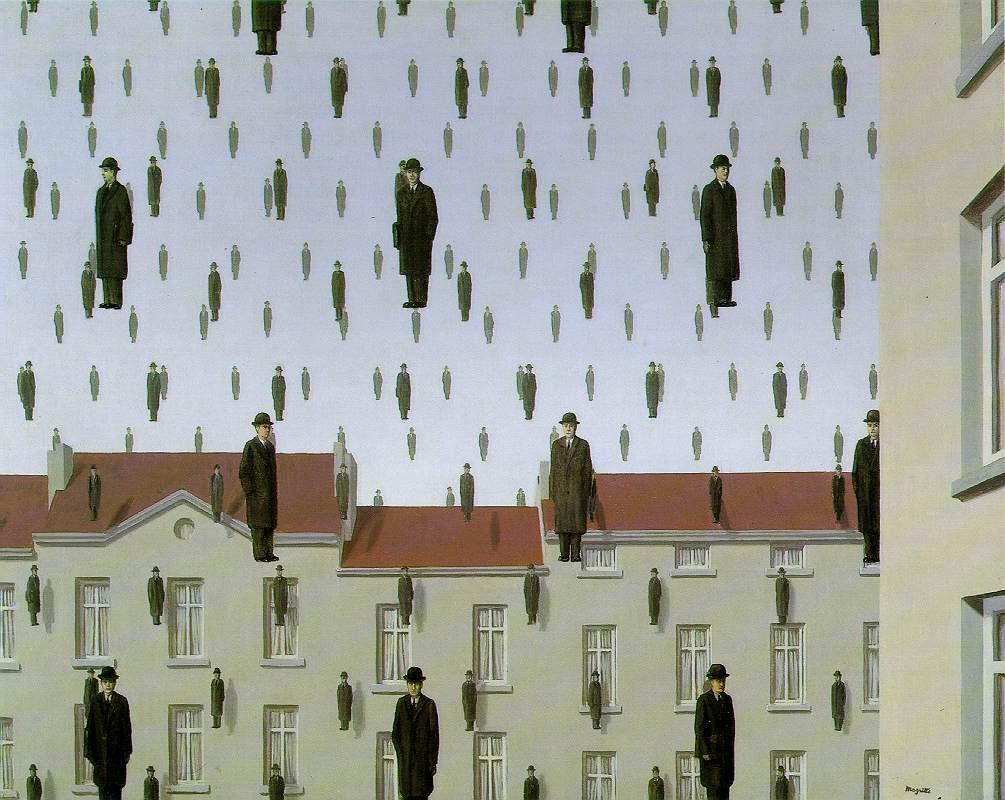 "RENE MAGRITTE Surrealism Art Poster or Canvas Print /""Hesitation Waltz/"""