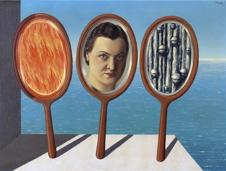 René Magritte - Portret van Irène Hamoir, 1936.