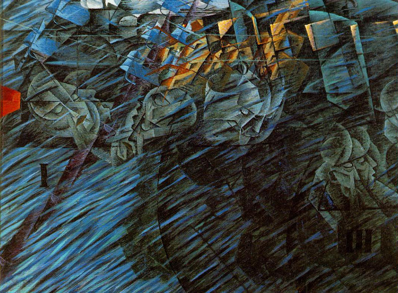 futurist artists matteson art