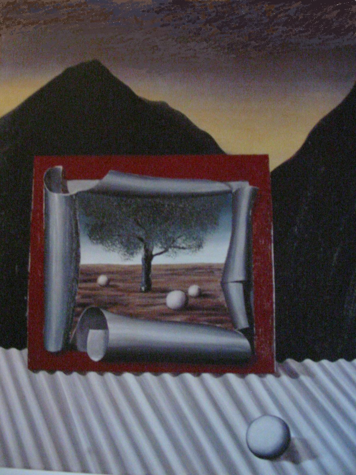 le miroir vivant magritte