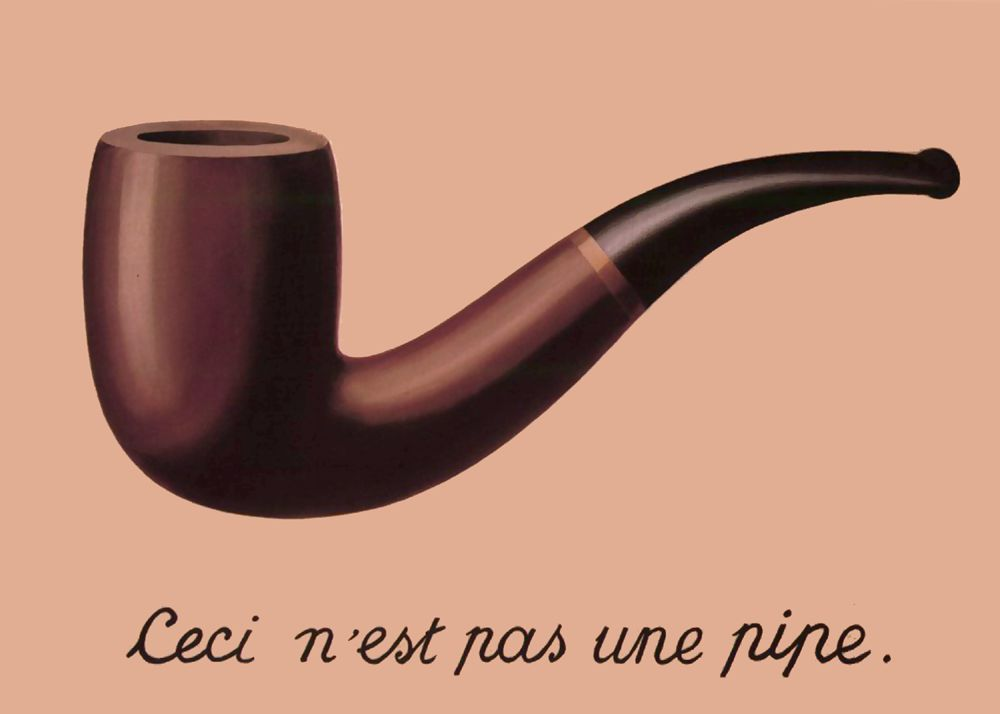 Rene Magritte The Treachery Of Images The Treachery of Images